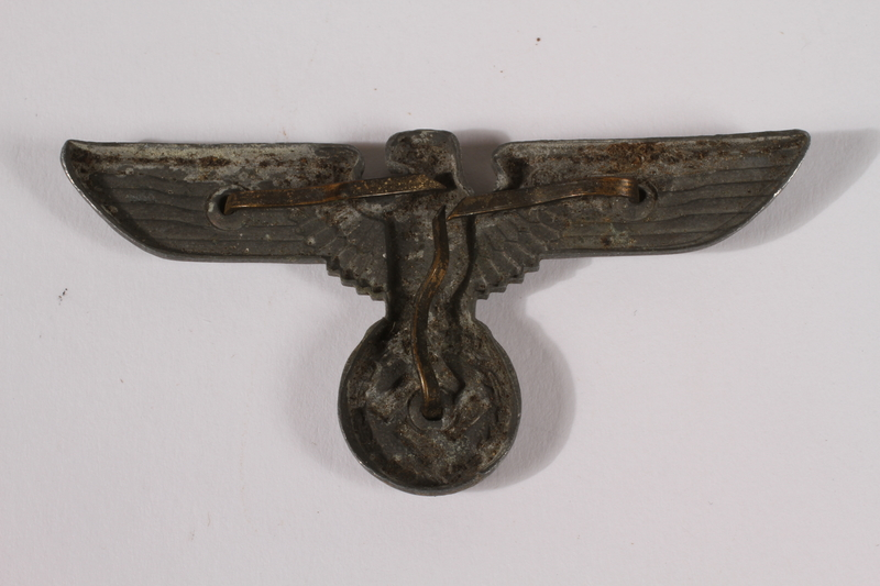 2014.480.35 back German eagle emblem, Kriegsmarine