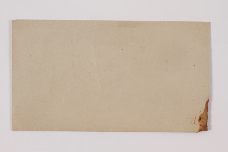 2014.480.15 c front Poem and accompanying envelope