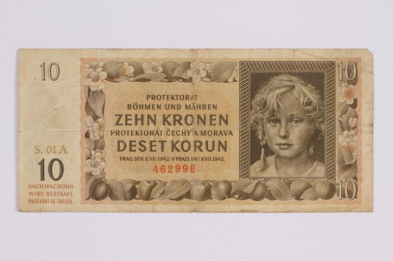 2014.480.122 front ten kronen scrip