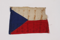 2014.480.5 front Czechoslovakian flag  Click to enlarge