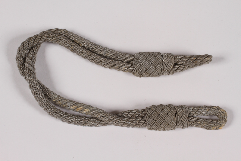 2014.480.21 b front Luftwaffe trade badge with cord