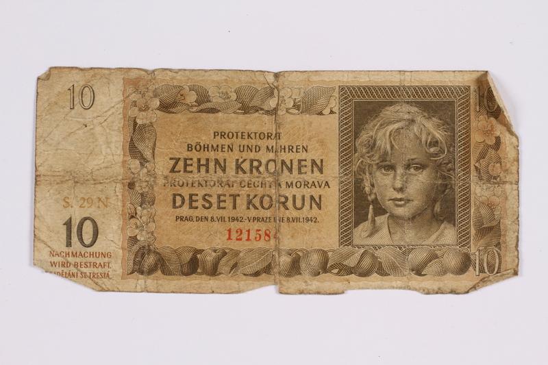 2014.480.118 front ten kronen scrip