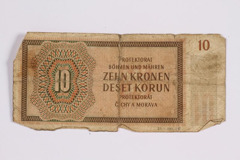 2014.480.118 back ten kronen scrip