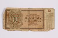 2014.480.118 back ten kronen scrip  Click to enlarge