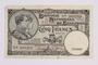 Belgian five francs scrip