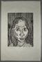 Otto Pankok woodcut of a Sinti woman