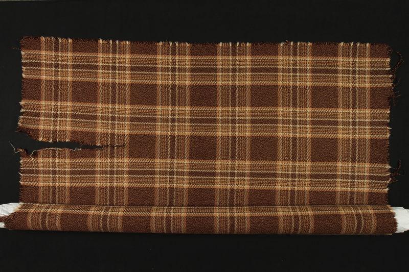 1994.107.1 detail Blanket used in the Kovno Ghetto