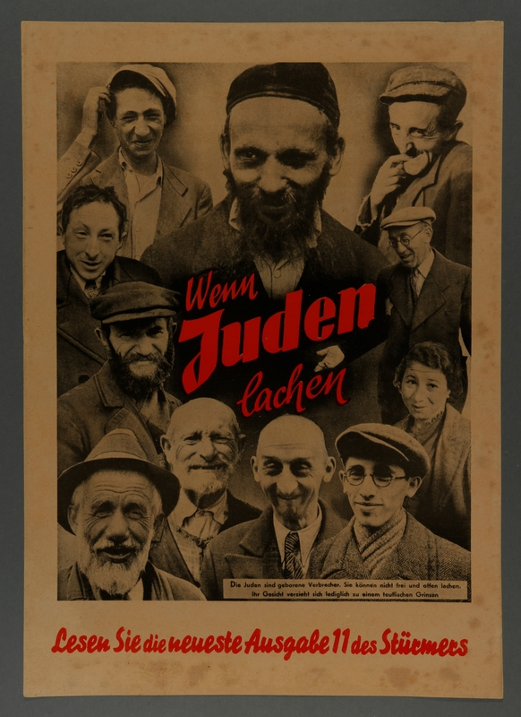1994.110.3 front Anti-semitic propaganda poster
