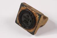 2009.410.5 left side Rubber stamp  Click to enlarge