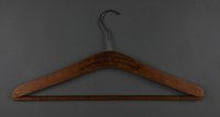 2013.463.2 front Wooden hanger from prewar Vienna  Click to enlarge