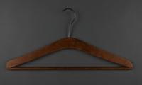 2013.463.2  back Wooden hanger from prewar Vienna  Click to enlarge