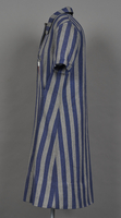 1994.24.1 left Concentration camp uniform dress with number 94593 worn by a German Jewish inmate  Click to enlarge