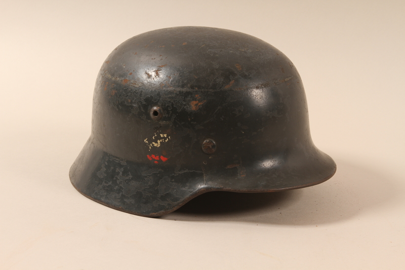 1994.64.1 right side Combat helmet with a Reichsadler and swastika