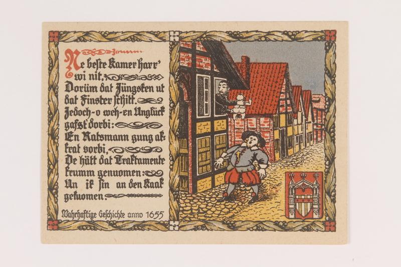 2014.201.2 back Brakel, Germany, 2 mark note