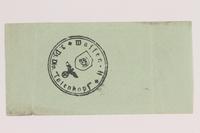2014.201.5 back German Army, 10 Reichspfennig note  Click to enlarge