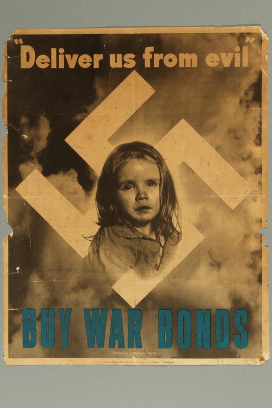 1994.67.1 front U.S. War Bonds anti-Nazi leaflet