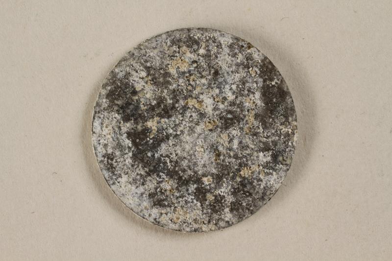 1994.79.3 front Łódź (Litzmannstadt) ghetto scrip, 5 mark coin