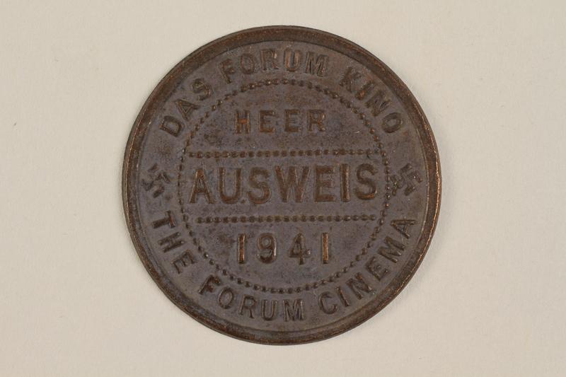 1989.142.3 front German cinema token