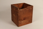 Box found at Dachau concentration camp after liberation by a US soldier