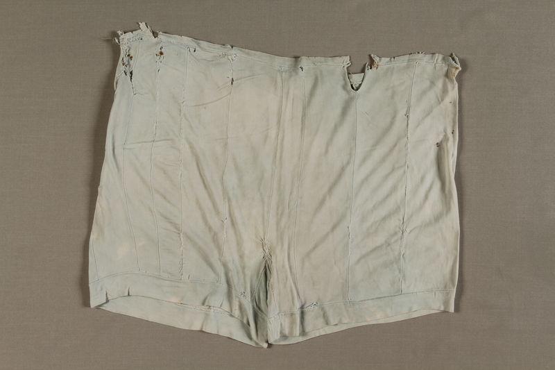 1995.11.2 front Underwear worn in the Warsaw ghetto