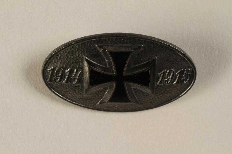 1994.124.10 front Iron Cross medal, World War I