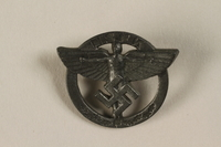 1994.124.19 front NSFK:  Nazi Flying Corps pin  Click to enlarge