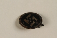 1994.124.7 front Nazi Party SS badge for Social Member  Click to enlarge