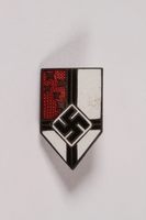 1995.124.9 front Nazi Party badge  Click to enlarge
