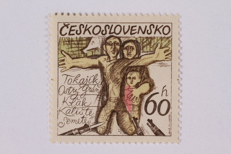 1995.128.101 front Postage stamp