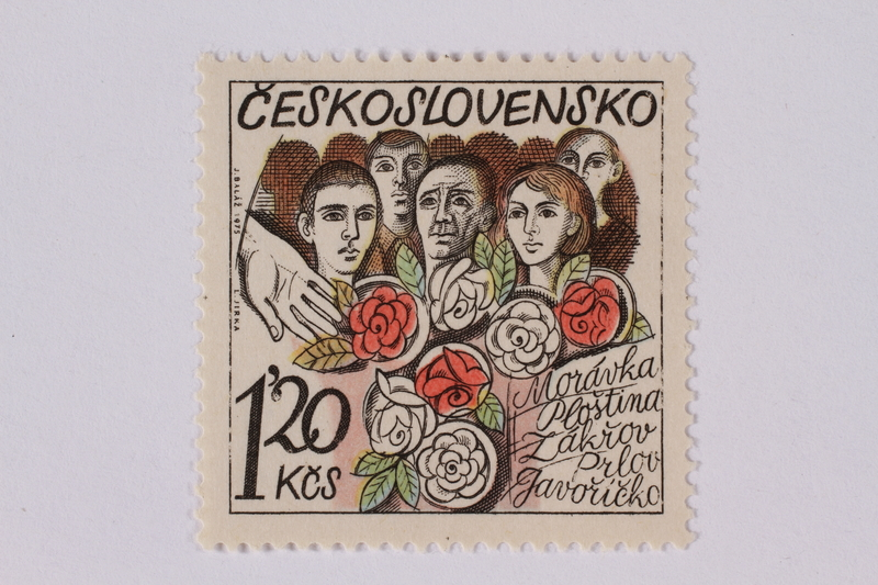 1995.128.104 front Postage stamp