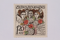 1995.128.104 front Postage stamp  Click to enlarge