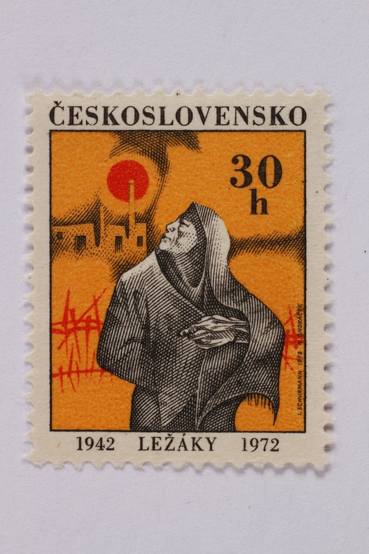 1995.128.106 front Postage stamp