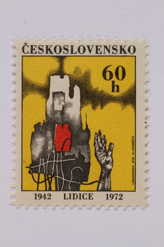 1995.128.107 front Postage stamp
