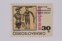 1995.128.109 front Postage stamp  Click to enlarge