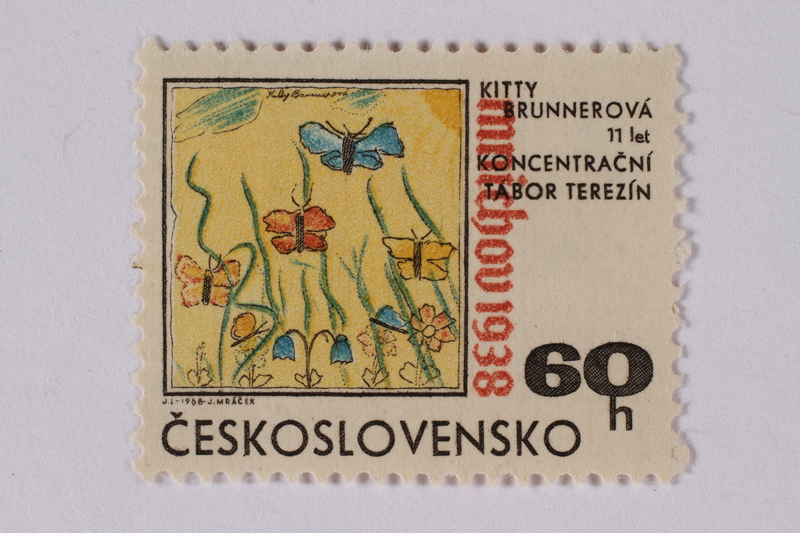 1995.128.110 front Postage stamp