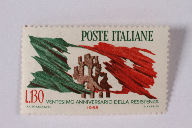 1995.128.111 front Postage stamp