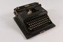 Typewriter with case