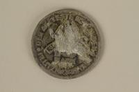 1995.128.172 back Łódź (Litzmannstadt) ghetto scrip, 10 mark coin  Click to enlarge
