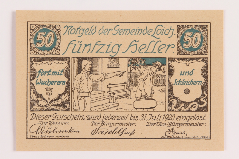 1989.21.3 front Inflation coupon
