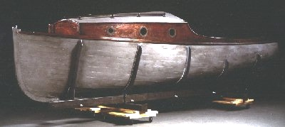 Danish Rescue Boat Collection Image, 1989.222.1 Motorboat used to take Jewish people in Denmark to safety in Sweden