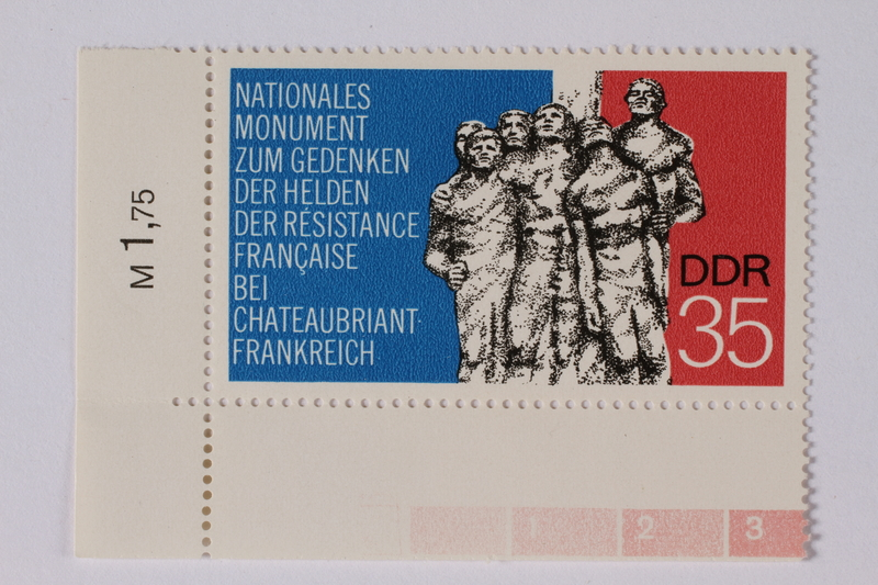 1995.128.49 front Postage stamp