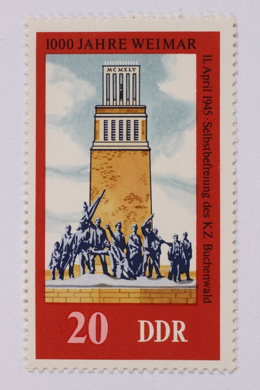 1995.128.67 front Postage stamp