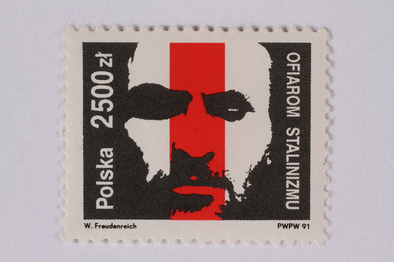 1995.128.68 front Postage stamp