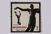 1995.128.91 front Postage stamp  Click to enlarge