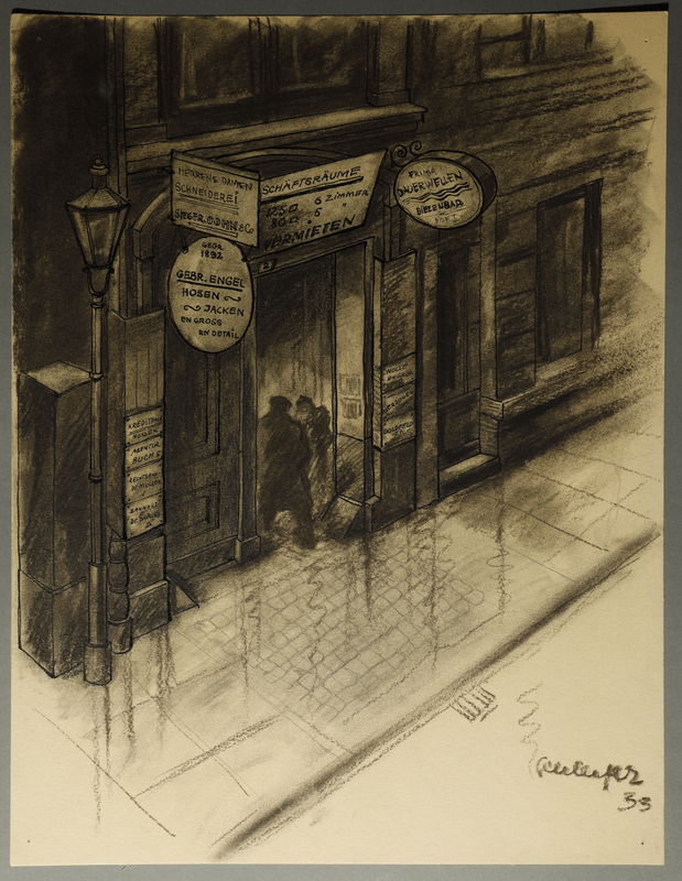1995.132.10 front Drawing by William Sharp