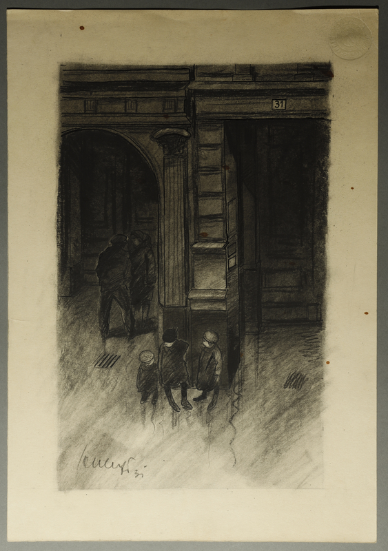 1995.132.2 front Drawing by William Sharp