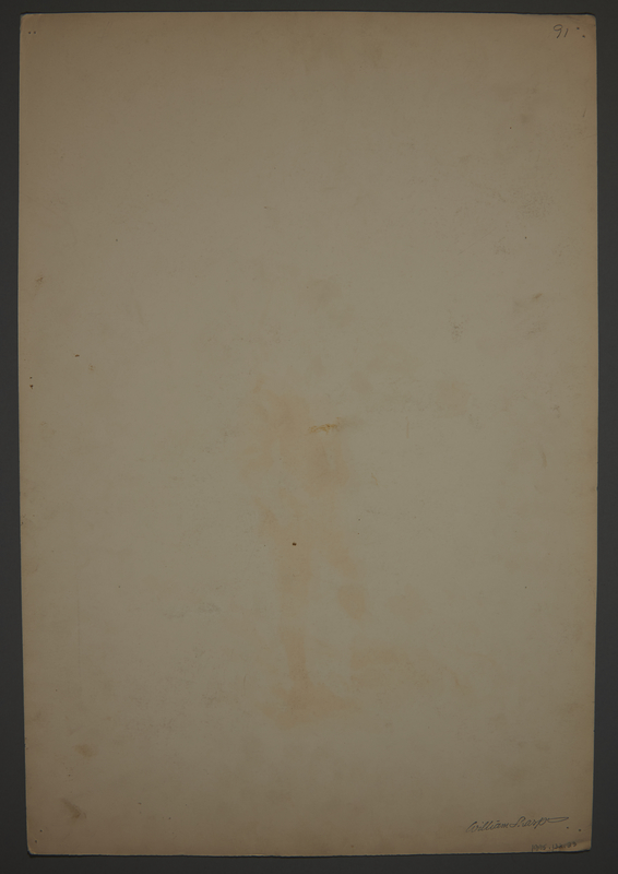 1995.132.23 back Drawing by William Sharp