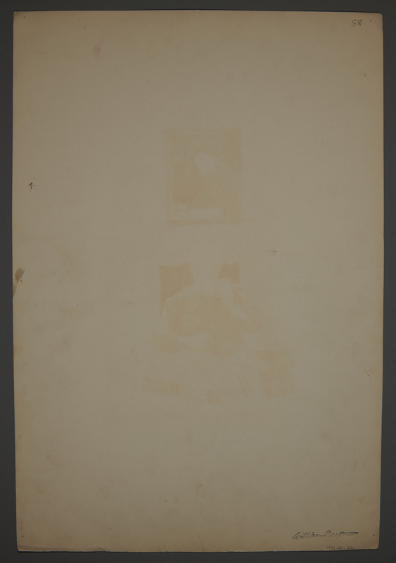 1995.132.26 back Drawing by William Sharp