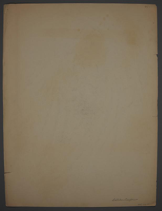 1995.132.57 back Anti-Nazi drawing created by William Sharp