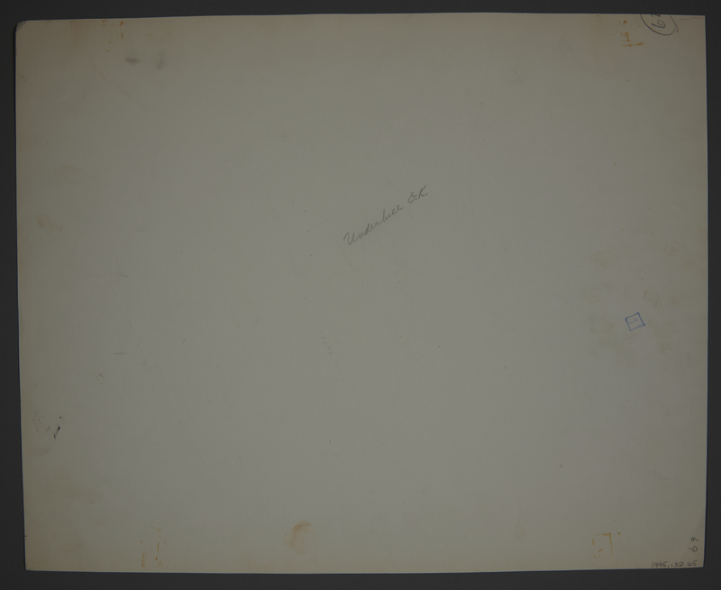 1995.132.65 back Drawing by William Sharp